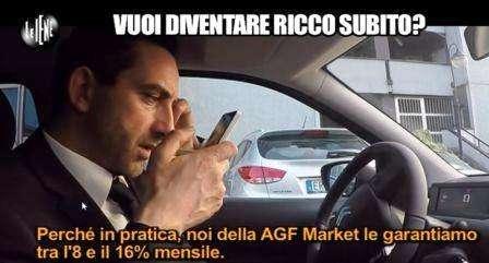 Servizio Le Iene Opzioni Binarie: AGF Markets garantisce al telefono una rendita mensile