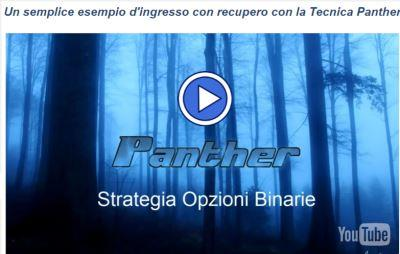 video strategia opzioni binarie panther