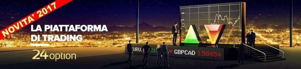 24option Nuova Piattaforma di Trading Novita' 2017. Recensione e prestazioni