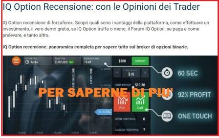 Recensione completa broker iq option