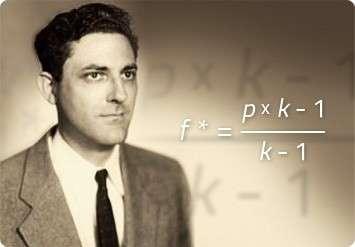 John Larry Kelly Jr. era un fisico che lavorava per la Bell Labs