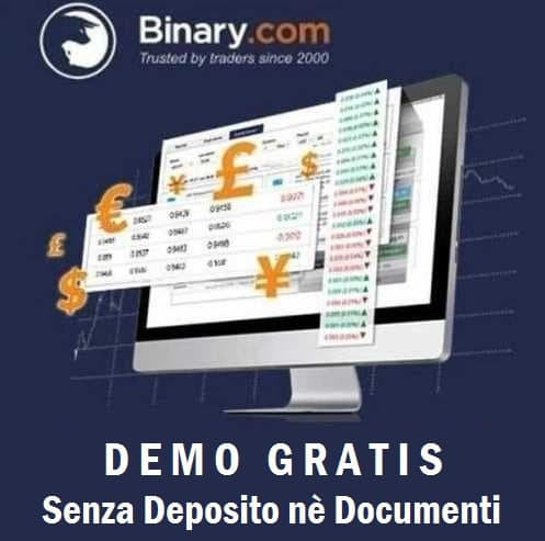 Demo gratis su Binary.com