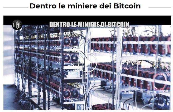 Dentro le miniere dei Bitcoin - Le Iene