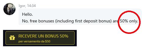 Bonus Pocket Option 50%