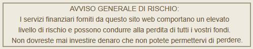 AVVISO GENERALE DI RISCHIO