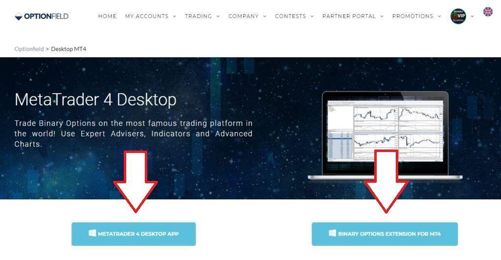 Metatrader 4 binary options app