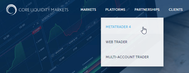download the metatrader file and install it.