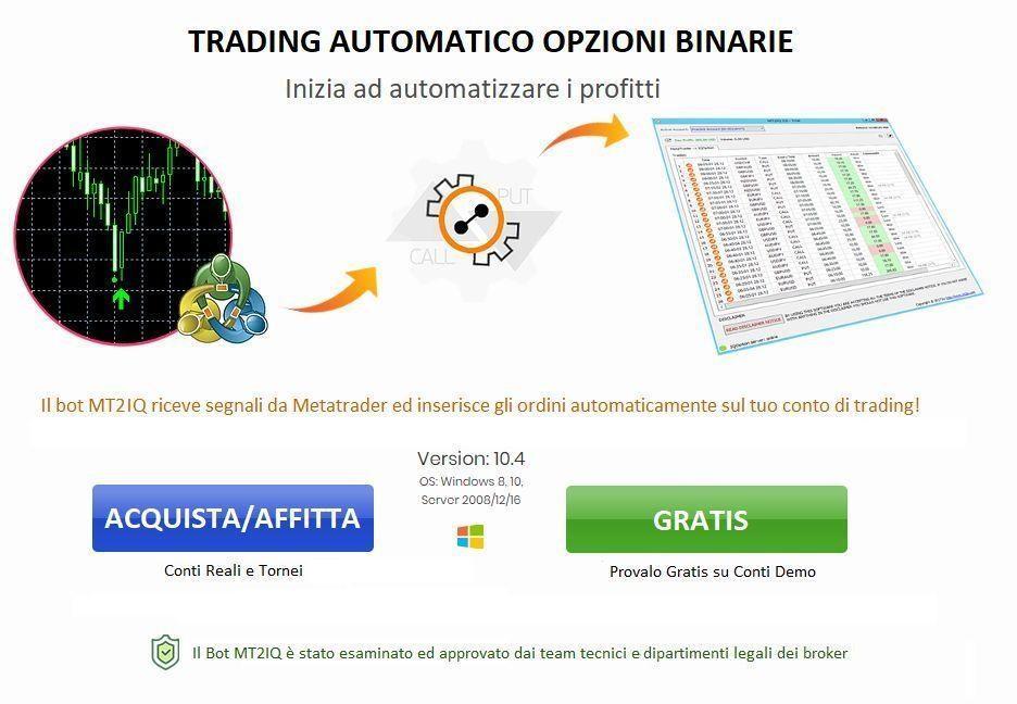 programma di autotrading opzioni binarie