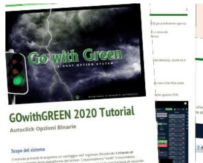 """GOwithGREEN"" Trading automatico senza robot"