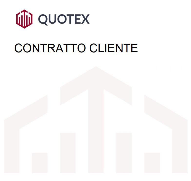 Quotex contratto cliente